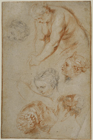 Studies of Women / Rubens