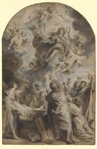 Assumption of the Virgin / Rubens and Pontius