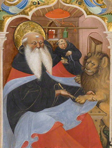 Saint Jerome Extracting a Thorn from a Lion's Paw
