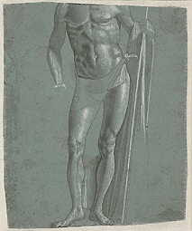 Standing Christ (after conservation) / Carpaccio