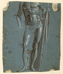 Standing Christ (before conservation) / Carpaccio