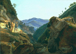 Mountain Landscape with the Road to Naples / Remond