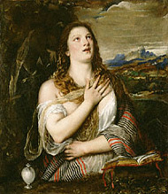 Penitent Magdalene / Titian and Workshop