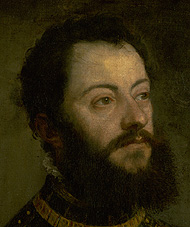 detail of Alfonso d'Avalos / Titian