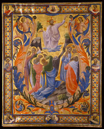 Initial V: The Ascension of Christ