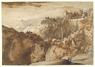View of Tivoli / Claude Lorrain