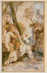 Vision of Saint Eustace / F. Zuccaro