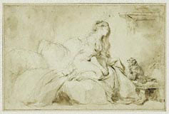 Oh! If Only He Were As Faithful to Me / Fragonard