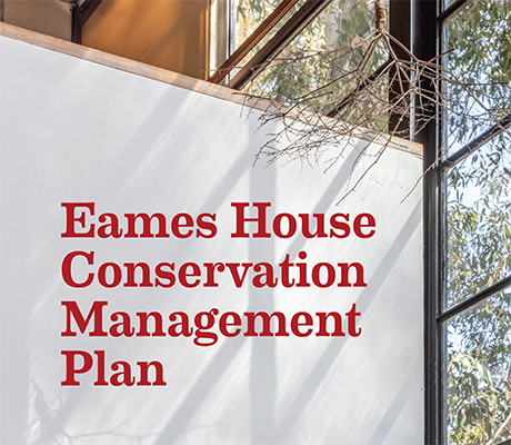 Cover of Eames House Conservation Management Plan