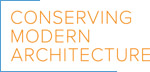 Conserving Modern Architecure Initiative logo