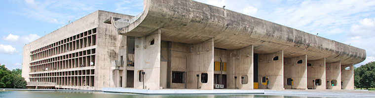 Chandigarh Legislative Assembly (1962) by Le Corbusier, Chandigarh, India. Photo: Susan Macdonald