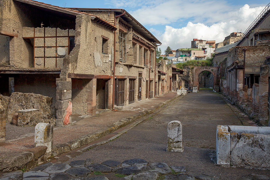 Herculaneum Conservation Of The Tablinum Of The House Of