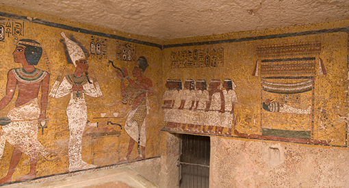paintings northeast corner burial chamber