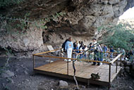 viewing platform at Cueva del Ratón