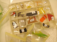 samples of plastic materials