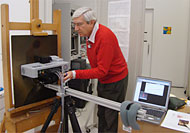 GCI Scientist using XRD/XRF