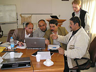 DoA staff in Jordan