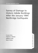 Survey of Damage to Historic Adobe Buildings after the January 1994 Northridge Earthquake
