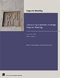 Conserving Concrete Heritage Experts Meeting Report