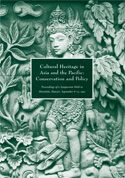 Cultural Heritage in Asia and the Pacific