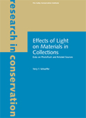 Effects of Light on Materials in Collections: Data on Photoflash and Related Sources