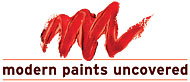 modern paints uncovered logo
