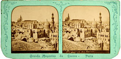 old panorama photo of Cairo - Fouad Debbas Collection