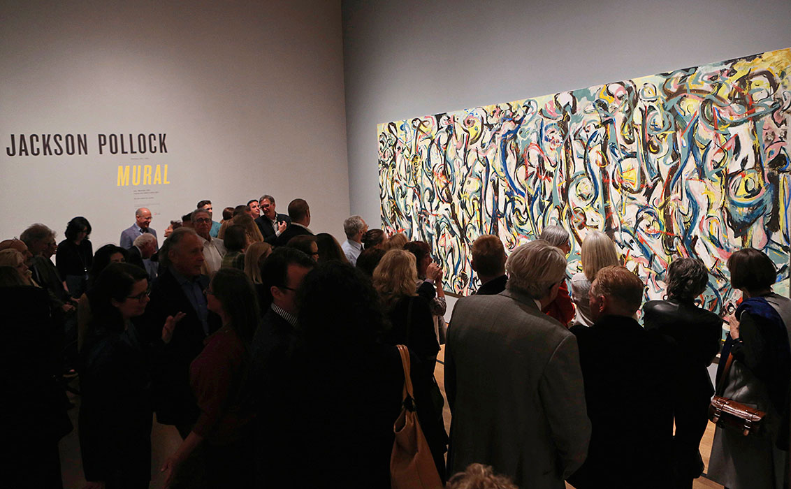 Exhibition: Jackson Pollock's Mural (News Item)
