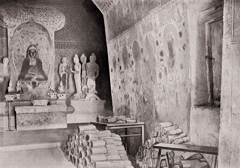 English In Italian: The World In The Year 1000: The View From Dunhuang