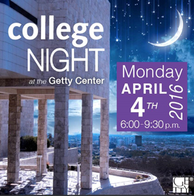 College Night at the Getty Center (Getty Museum Programs)