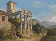 Temple of Hercules/Hackert