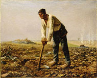 Man with a Hoe/Millet