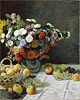 Still Life with Flowers / Monet