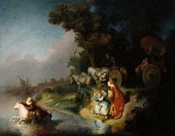 Abduction of Europa/Rembrandt