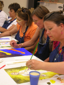 Collaborate, explore, and learn in Getty Museum workshops.