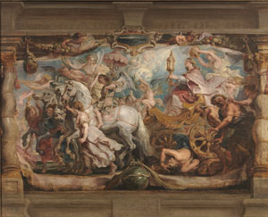 Rubens, Triumph of the Church, Prado.