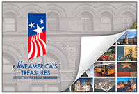Save America's Treasures poster