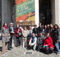 UERJ group at Museo de Arte Decorativo in Buenos Aires