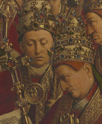 Detail from the Ghent Altarpiece