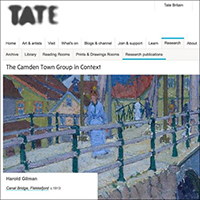 Tate OSCI catalogue screenshot