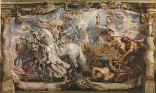 Peter Paul Rubens' <i>Triumph of the Church</i> (1625-6) after conservation