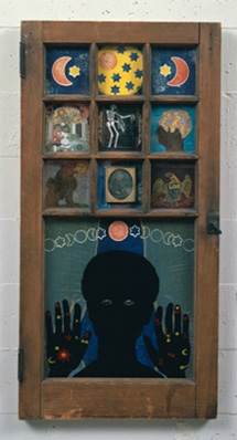 Betye Saar, Black Girl's Window, 1977