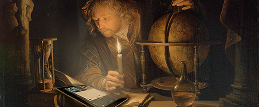 Derived from Gerrit Dou, <i>Astronomer by Candlelight</i>