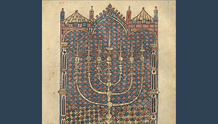 Exhibition at the Getty Center | Art of Three Faiths: a Torah, a Bible, and a Qur'an