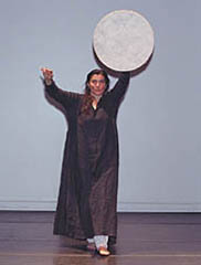 Photograph of ancient drama performance by Mike Fanning