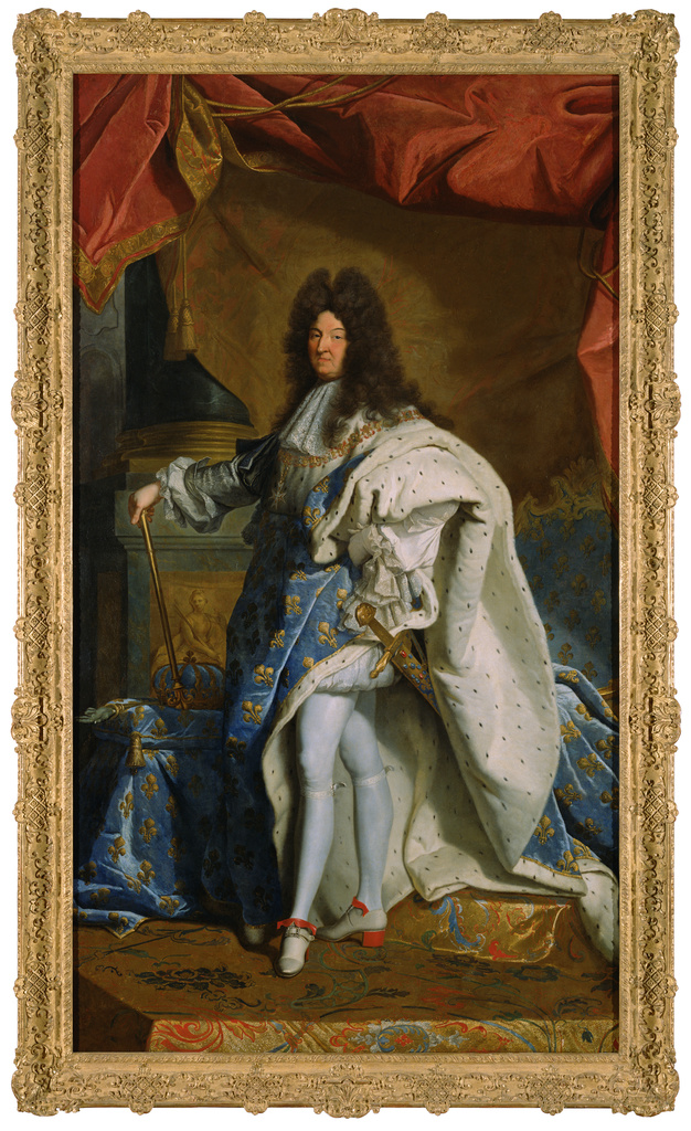 Portrait Of Louis XIV (Getty Museum