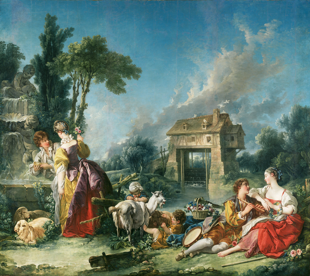 François Boucher, The Fountain of Love, 1748, J. Paul Getty Museum, Los Angeles, USA.