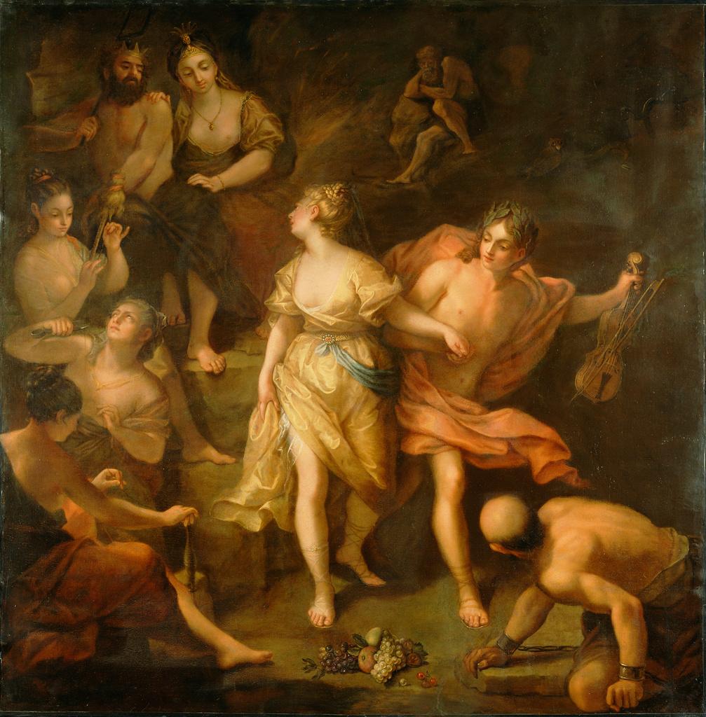 Orpheus and Eurydice (Getty Mu...