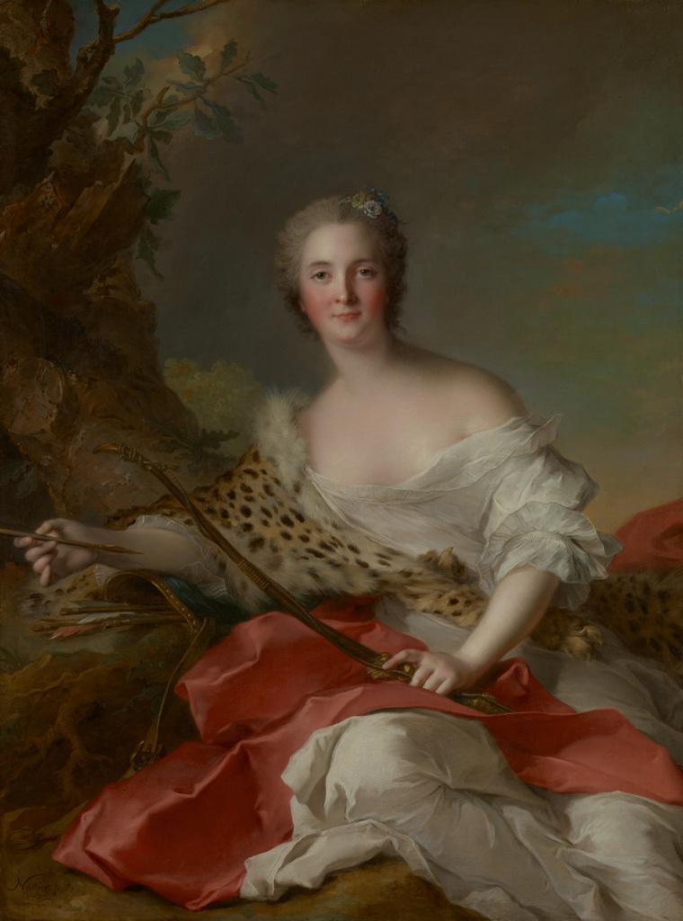 Portrait of Madame Bonnier de la Mosson as Diana ...