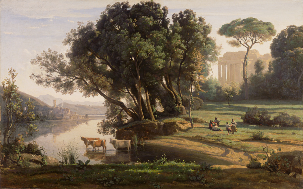 Italian Landscape Site D Italie Soleil Levant Getty Museum